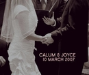 CALUM & JOYCE - photo book