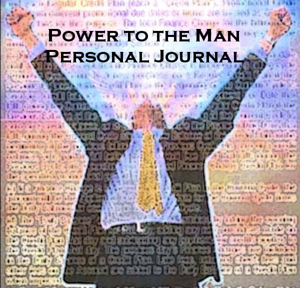 Click to preview Power to the Man Personal Journal photo book