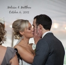 Melissa & Matthew October 6, 2012 - Wedding photo book