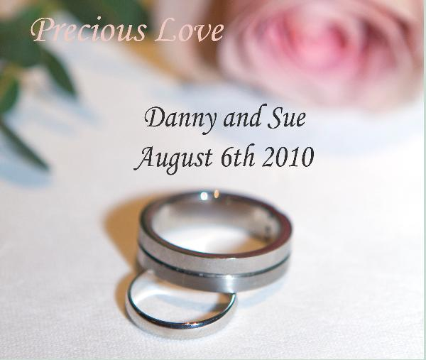 Click to preview Danny and Sue photo book
