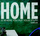 HOME is where you put your stuff, as listed under Arts & Photography