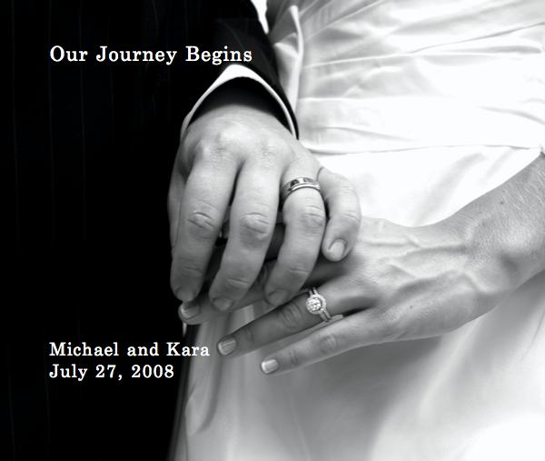 View Our Journey Begins Michael and Kara July 27, 2008 by Jan Casper Photography