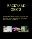 BACKYARD GEM'S, as listed under Home & Garden