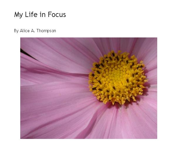 Click to preview My Life in Focus photo book