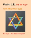Psalm 121 in B flat major