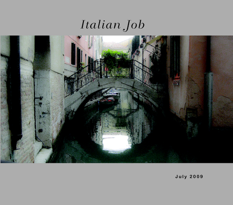 Click to preview Italian Job photo book