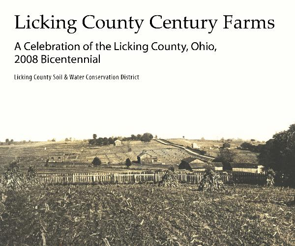 Click to preview Licking County Century Farms Book photo book