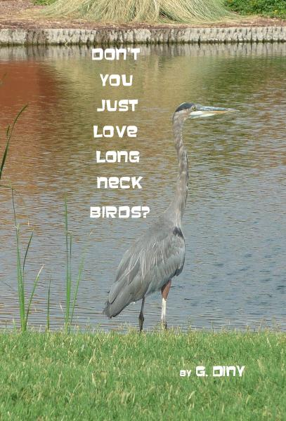 Click to preview Don't You Just Love Long Neck Birds? pocket and trade book