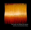 the art of Mike Elsass acrylic on rusted steel, as listed under Arts & Photography