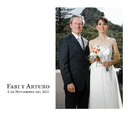 Arturo y Fabi - Wedding photo book