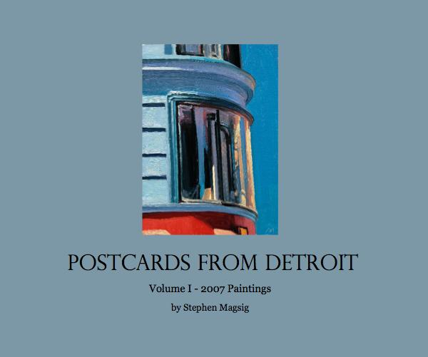 View Postcards from Detroit Vol I Hardcover 2007 by Stephen Magsig