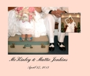 McKinley & Mattie Jenkins - Wedding photo book