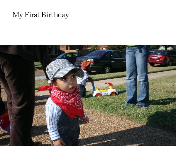 View My First Birthday by Lynn Jackson