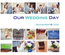 Our Wedding Day - Wedding photo book
