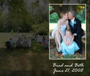 Brad and Beth - Wedding photo book