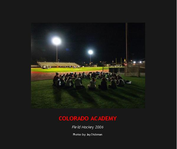 Ver COLORADO ACADEMY por Photos by Jay Dickman