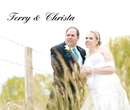 Terry & Christa - Wedding photo book