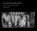 Max Thomas Rabbitt baptism - photo book