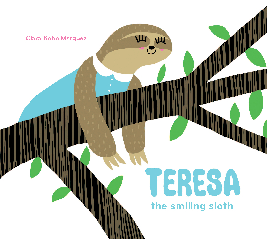 View TERESA the smiling sloth by Clara Kohn Marquez