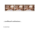 .::cardboard confessions::., as listed under Fine Art Photography
