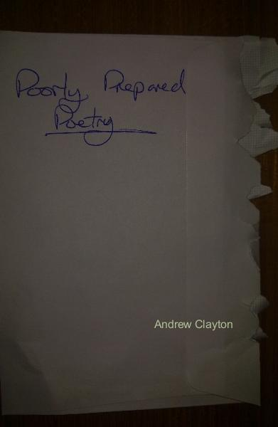Click to preview Poorly Prepared Poetry pocket and trade book