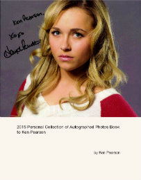 Click to preview 2015 Personal Collection of Autographed Photos Book to Ken Pearson photo book