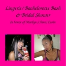 Lingerie/ Bachelorette Bash& Bridal Shower - Wedding photo book