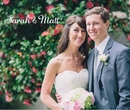 Sarah + Matt - Wedding photo book