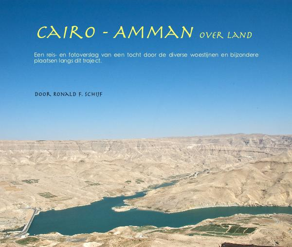 View Cairo - Amman over land by door Ronald F. Schijf