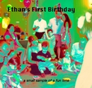Ethan's First Birthday - photo book