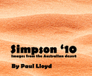 Simpson '10, as listed under Travel
