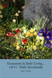 Ver Excursions in Daily Living... vol 11 - Daily devotionals por ann t. evans