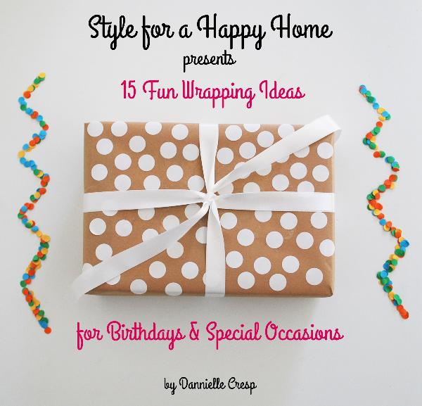 Click to zoom 15 Fun Wrapping Ideas for Birthdays & Special Occasions photo book cover