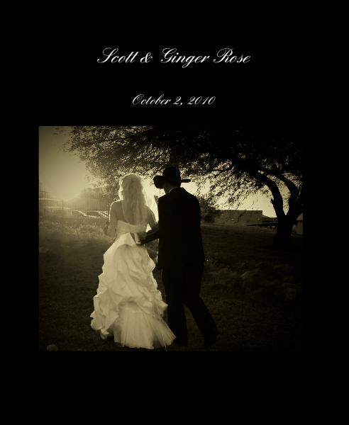 Click to preview Scott & Ginger Rose photo book
