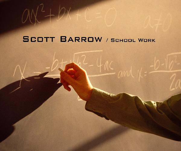 Ver Scott Barrow / School Work por Scott Barrow