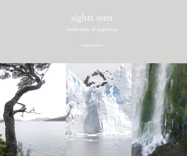 Ver sights seen por virginia khuri