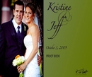 Kristine and Jeff - Wedding photo book
