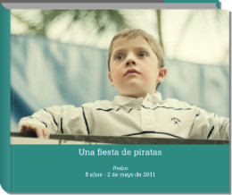 Click to preview Una fiesta de piratas photo book