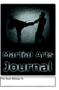 My Martial Arts Journal, as listed under Sports & Adventure