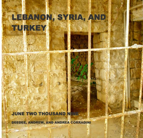 Click to preview LEBANON, SYRIA, AND TURKEY photo book