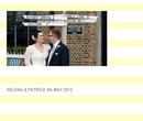 HELENA & PATRICK 5th MAY 2012 - Wedding photo book