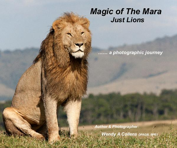 Ver Magic of The Mara Just Lions por Author & Photographer: Wendy A Collens DPAGB, BPE1