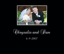 Chrysalis and Dan Collage album - Wedding photo book