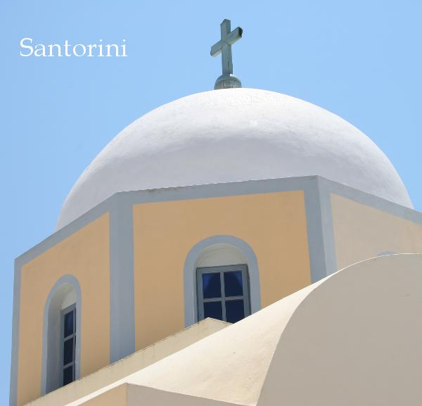View Santorini by D. L. Cook