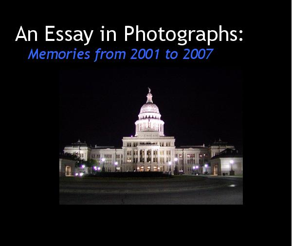 View An Essay in Photographs by RodGregg