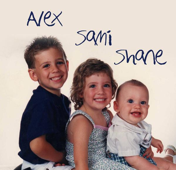 Click to preview alex, sami, shane photo book