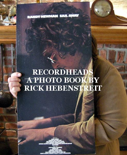 View RECORDHEADS A PHOTO BOOK BY RICK HEBENSTREIT by A Photo Book by Rick Hebenstreit
