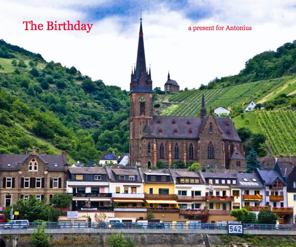 Click to preview The Birthday a present for Antonius photo book