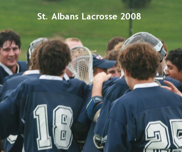 View St. Albans Lacrosse 2008 by Randy Miller and Matthew Mudd