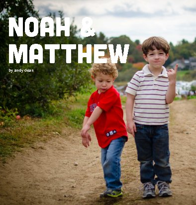 Click to preview noah & matthew photo book